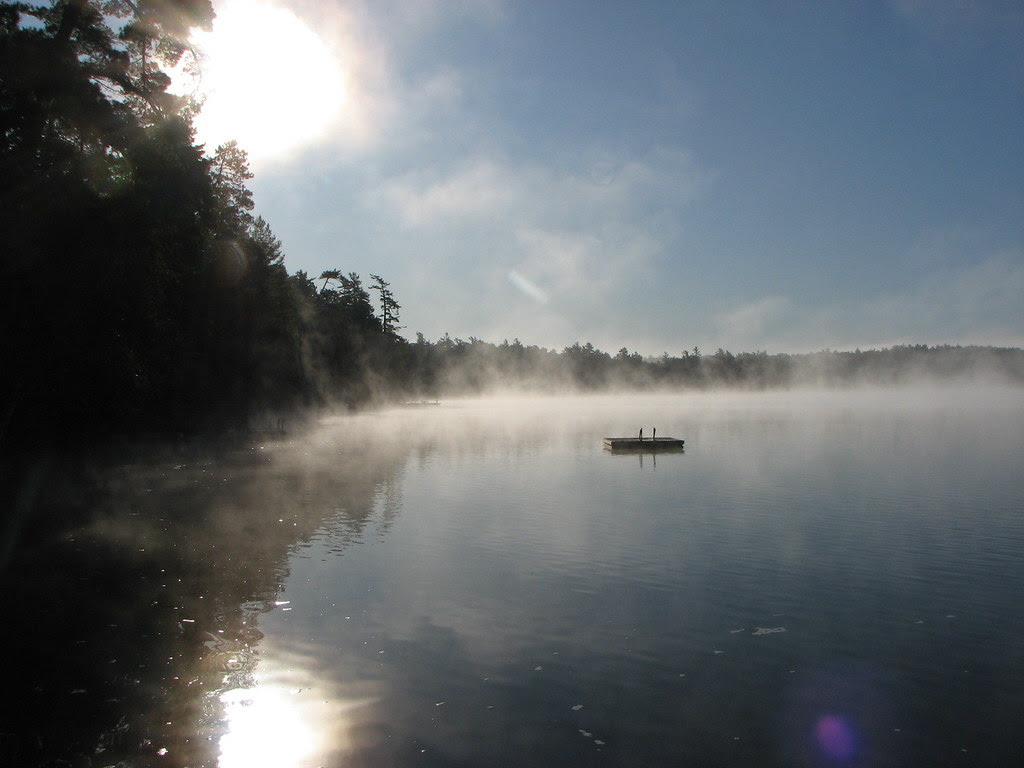 Morning in the Adirondacks