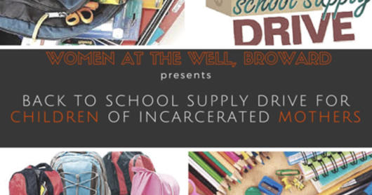 Back to School Supplies for Children of Incarcerated Mothers