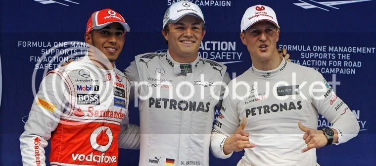 Pole de Nico Rosberg en el GP de China 2012, Shanghai