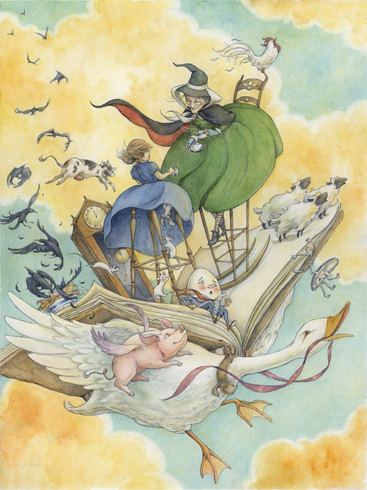 Illustrating Mother Goose • Alice Ratterree