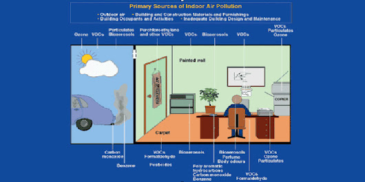 Quality of the air you breathe indoors linked to your cognitive performances