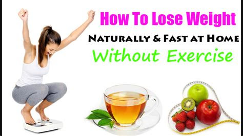 lose weight naturally  exercise