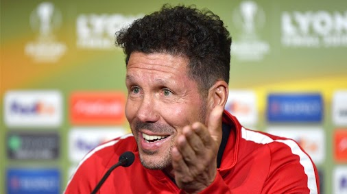 #Atletico Madrid coach Diego Simeone expects great Europa League final against #Marseille #2018europ...