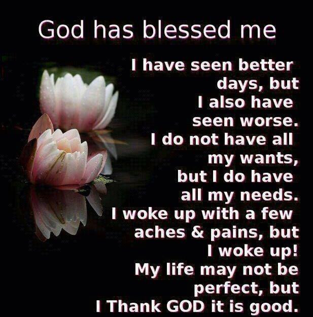 God Has Blessed Me Immensely Walk In Your Purpose