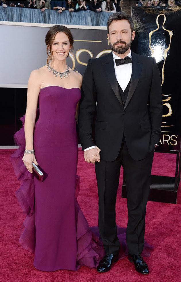 85th Annual Academy Awards - Arrivals: Jennifer Garner and Ben Affleck