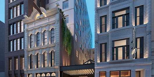 First look at Printers Alley's Dream Nashville hotel now at highest point