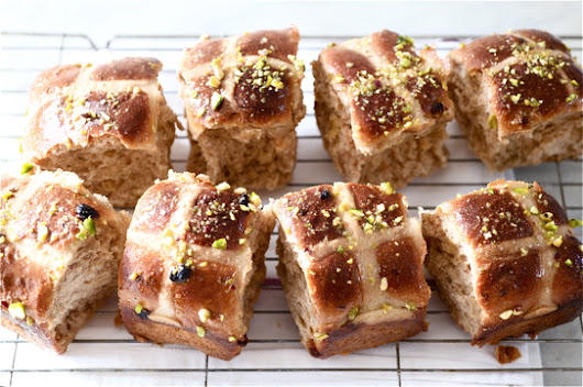 Hot Cross Buns, Cardamom and Golden Sultana