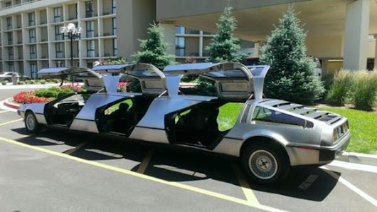 The 'Stretch DeLorean', For When You Really Want To Time Travel Back To Your Mom's Prom...In Style!