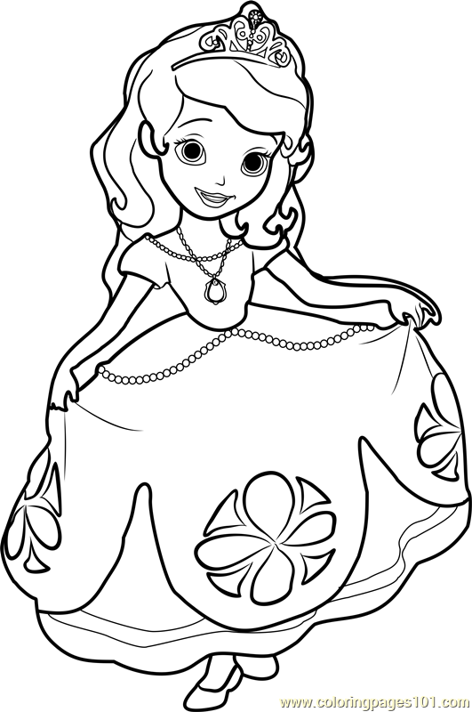 Sofia The First Coloring Pages: March 2014 | Coloring ...