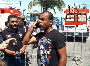 Acidente desta quinta foi anunciado com ameaça de naufrágio na véspera, diz vítima