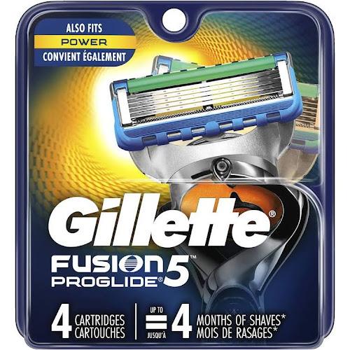 Gillette Fusion5 ProGlide Power Cartridges - 4 count