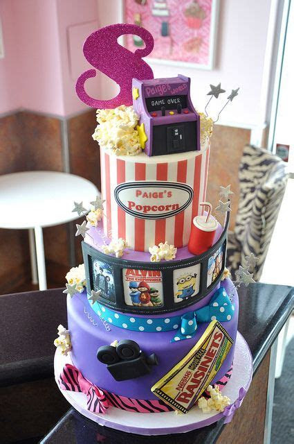Southern Blue Celebrations: Movie Star / Movie Night Cake