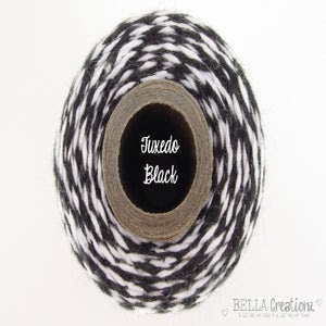 Image of Tuxedo Black Bakers Twine ~ Timeless Twine™