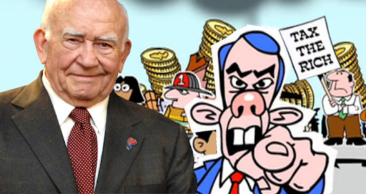 Ed Asner Narrates 'Tax The Rich - Video