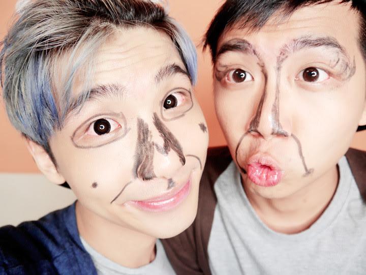typicalben randy ugly make up gwiyomi