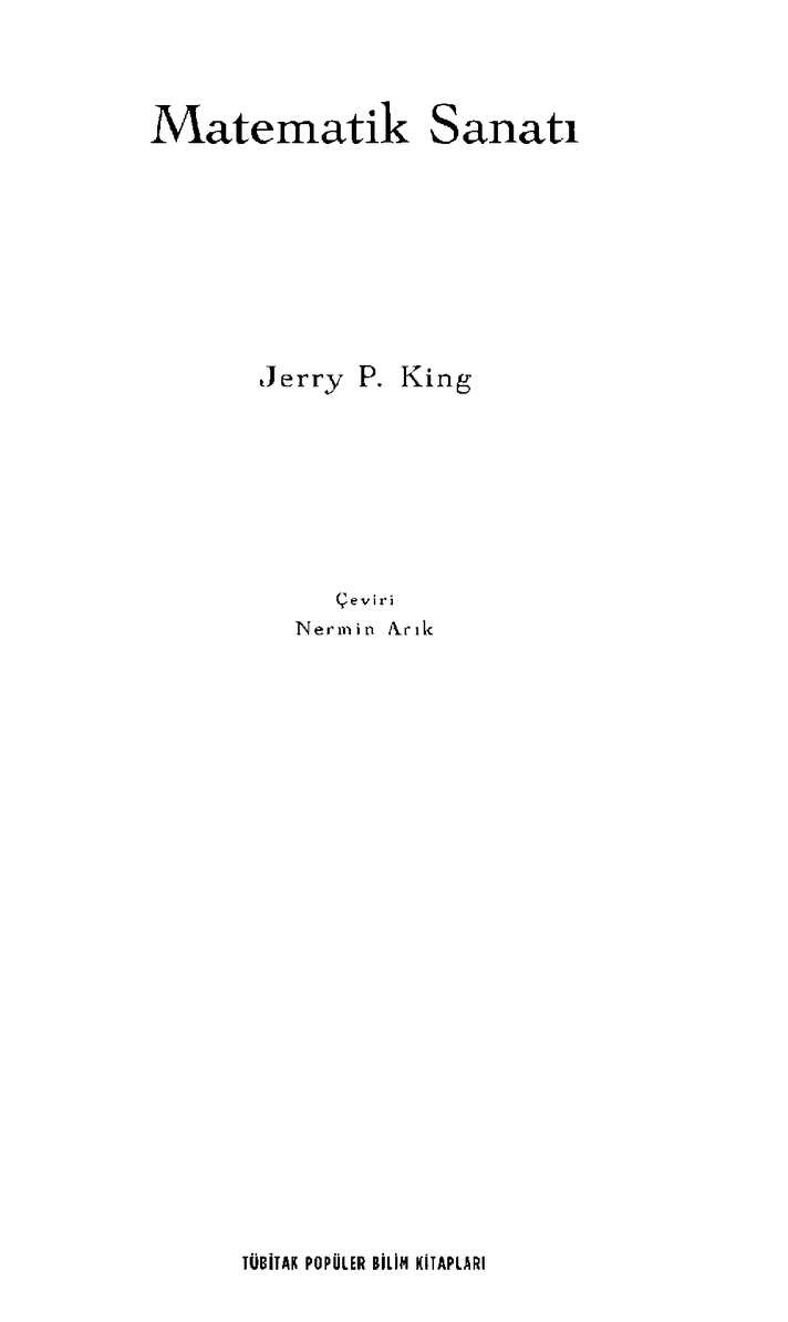 Calaméo Matematik Sanatı Jerry P King