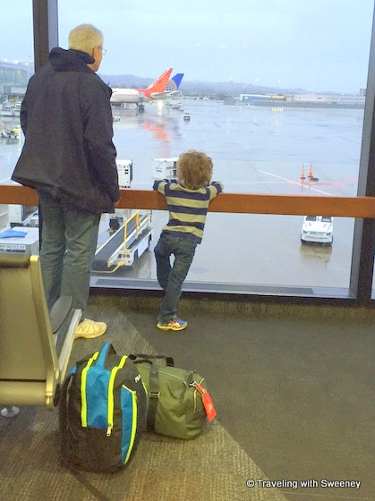 Traveling with a Five-Year-Old on His First Flight