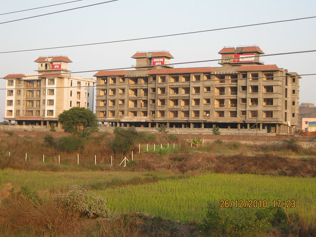 Mahavir Natura, almost Ready for Possession 1 BHK & 2 BHK Flats at Talegaon MIDC Junction on Old Mumbai Pune Highway (NH4) at Vadgaon Maval, Pune 412 106