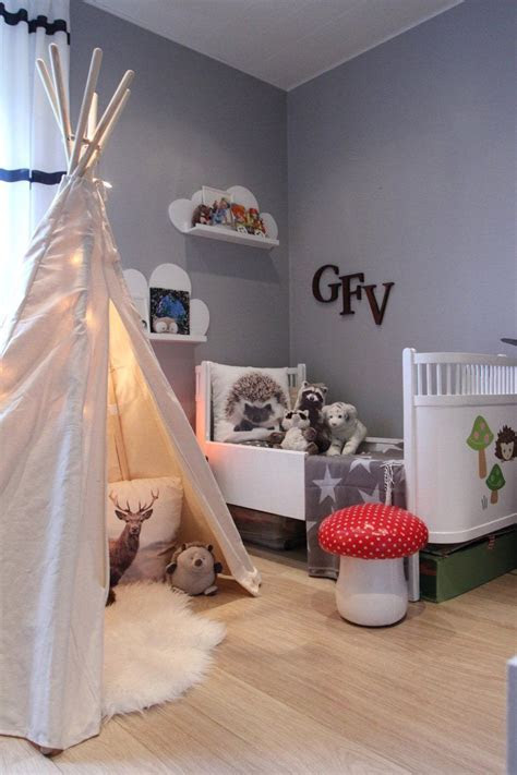 woodsy bedroom  iceland kids rooms nurseries
