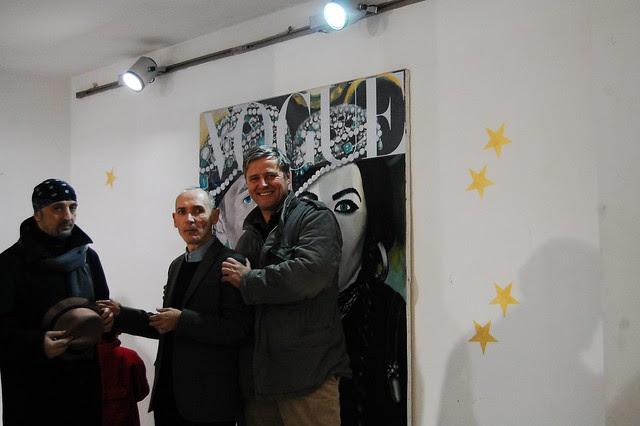 Oleg Timchenko Glitter and Saskia with Pony