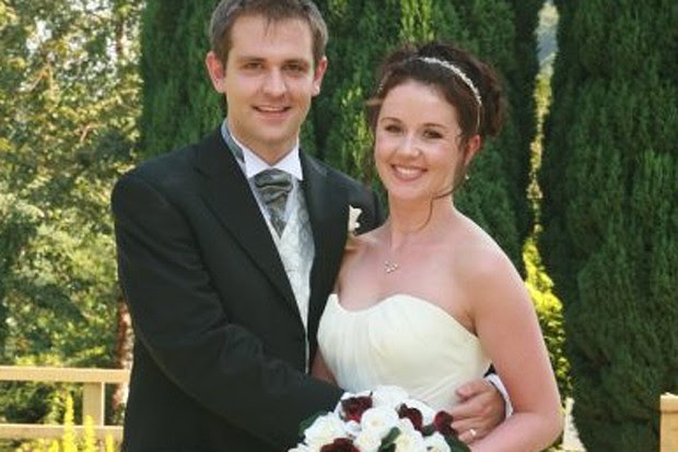 Jill Meagher And Husband Tom On Their Wedding Day