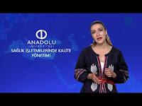 SAĞLIK İŞLETMELERİNDE KALİTE YÖNETİMİ - Ünite 1 Konu Anlatımı 1 - Açıköğretim Sistemi - Anadolu Üniversitesi