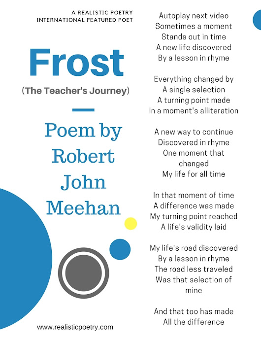 Frost the Teacher's Journey by Robert Meehan