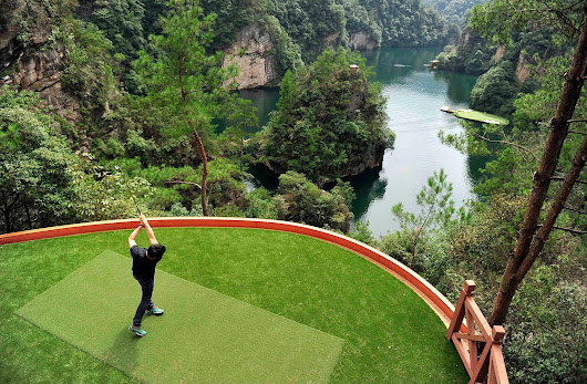 Chinese Golf Course Poses $1M Hole-in-One Challenge