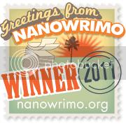 Nanowrimo Winner 2011