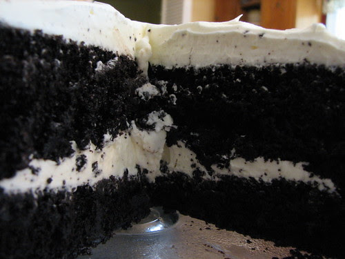Far From Disaster Cake (Yeah Right!) & Italian Meringue Buttercream