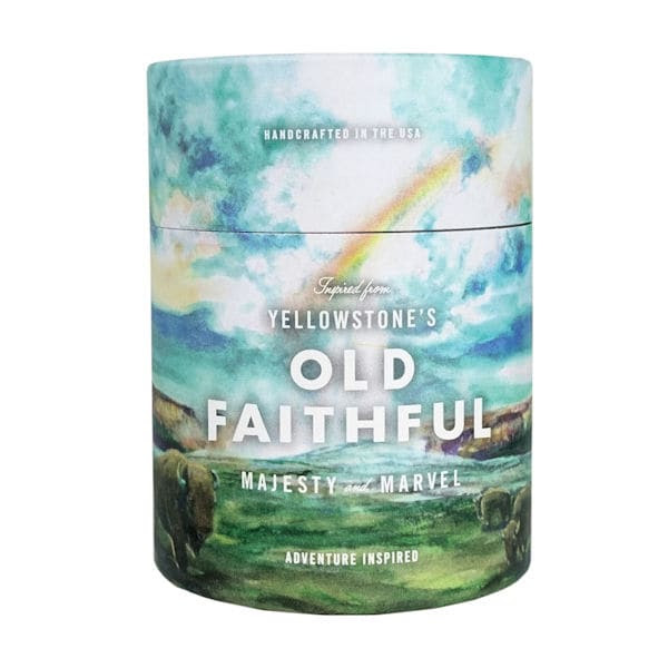National Parks Candles - Yellowstone's Old Faithful at Bas ...