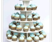 Best Round Cupcake Tower - Reusable - TheSmartBaker