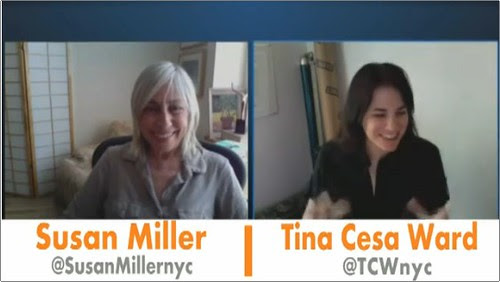 Susan Miller and Tina Cesa Ward
