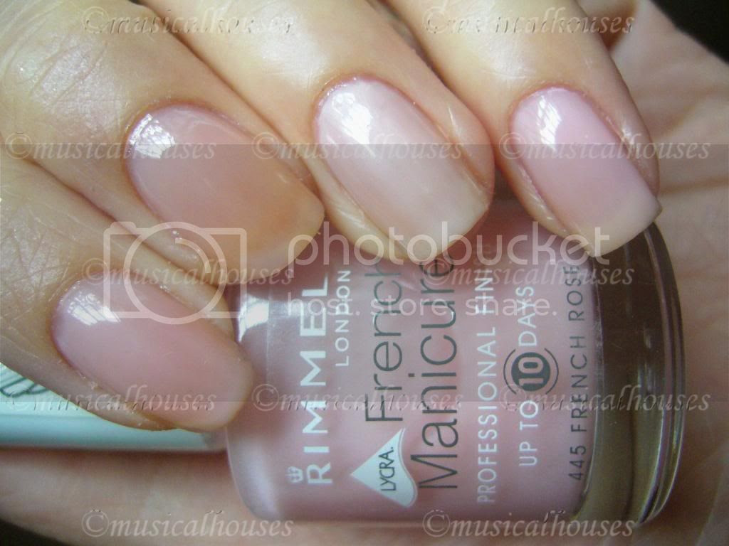 Eyeko Petite Polish, Rimmel French Rose, Nails Inc Elizabeth Street