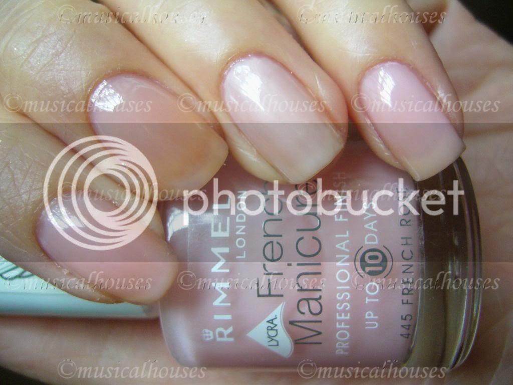 Eyeko Petite Polish, Rimmel French Rose, Nails Inc Elizabeth Street