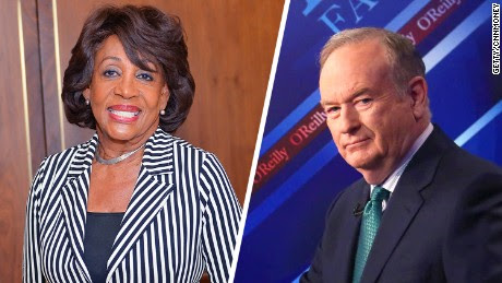 Rep. Maxine Waters fires back at O'Reilly