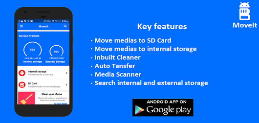 Movelt App for Android | Easily Transfer Your Media Files to SD Card