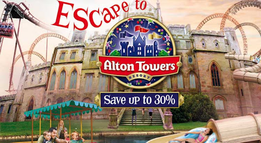 Alton Towers Offers 2016 - 30% OFF - UK family break