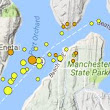 Several earthquakes hit Kitsap County Wednesday morning