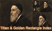 Titian or Tiziano and Geometry.