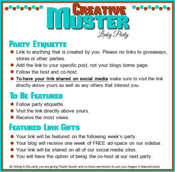 Great Ideas found at the Creative Muster