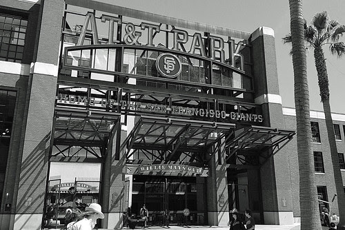 AT&T Park - Willie Mays gate