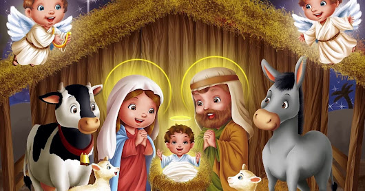 Birth Of Jesus Story With Pictures (2017) With Teachings And Story For Kids