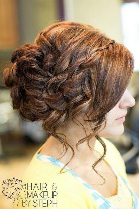Cute  prom  hairstyles  for long hair  2019