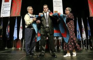 Dusten Brown honored by National Congress of American Indians