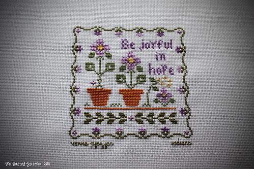 Little House Needleworks _ Be Joyful In Hope