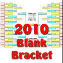 The 2010 viewable office pool bracket for the final four March madness basketball tournament.
