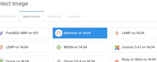 How To Use the DigitalOcean One-Click Install Redmine on Ubuntu 14.04 Image | DigitalOcean