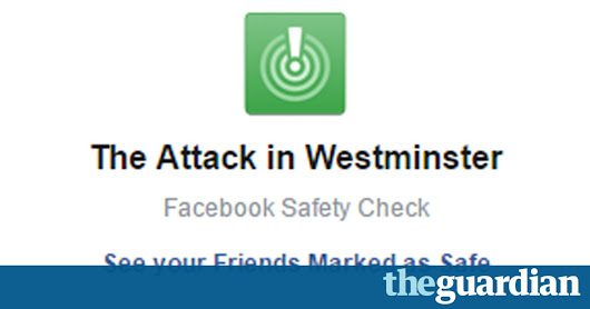 Yes, Facebook, I am safe – no thanks for asking | Tim Burrows | Technology | The Guardian
