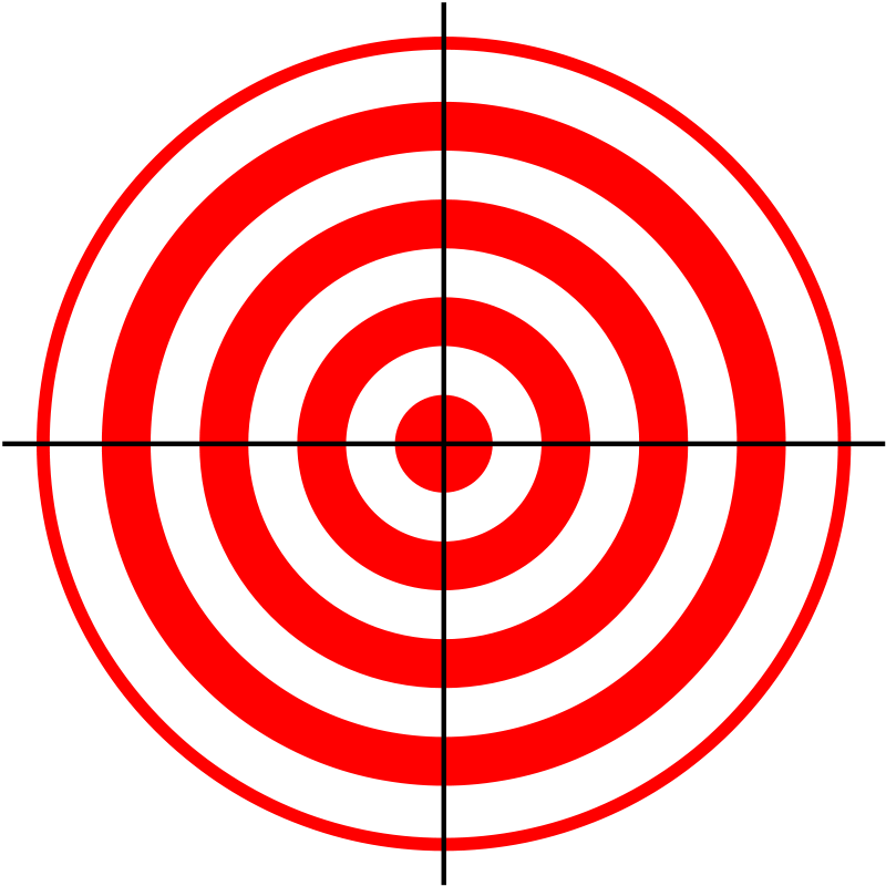 Http://www.paracordist.com free printable bullseye target #guns ...